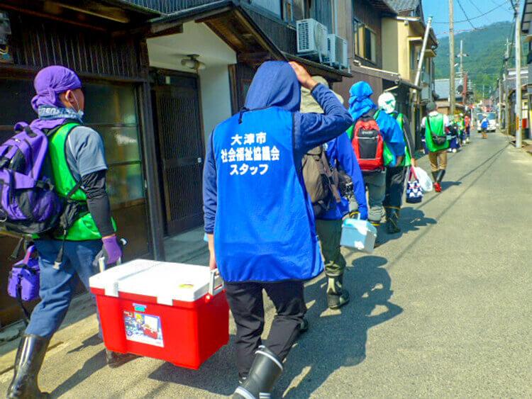 災害ボランティア活動の様子01